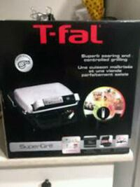 T-Fal Super Grill Indoor Barbecue *NEW* Vaughan, L6A 3N5