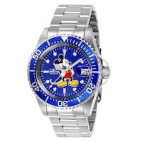 Invicta Men's Mickey Mouse Divers Watch HENDERSON