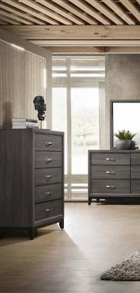 [CLEARANCE] Akerson Gray Chest   B4620 Houston, 77036