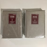 New Faux Silk Pewter Color  Drapes or Curtain Panels Set of 2 Newport News, 23606