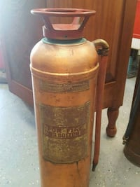Antique Brass Red Star Fire Extinguisher  Knoxville, 37917