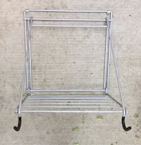 Wall Mount Bicycle Rack with Shelf - Holds one bicycle, Folds flat when not used Stockton, 95209