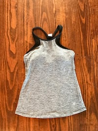 Gray and black halter top Austin, 78737