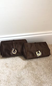 2X small clutch brown bags Baltimore, 21201