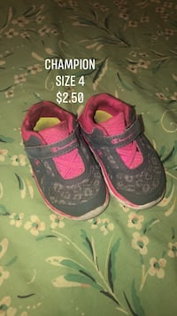 Size 4 champion toddler shoes