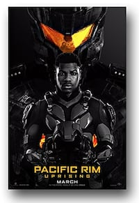 Must go! Pacific Rim Uprising poster. Good condition. Located in Simco