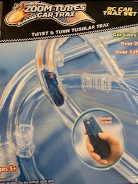 Zoom tubes RC racer car AND Zoom tubes car trax $20 both