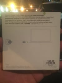 Apple Watch charger new never open seal 41 km