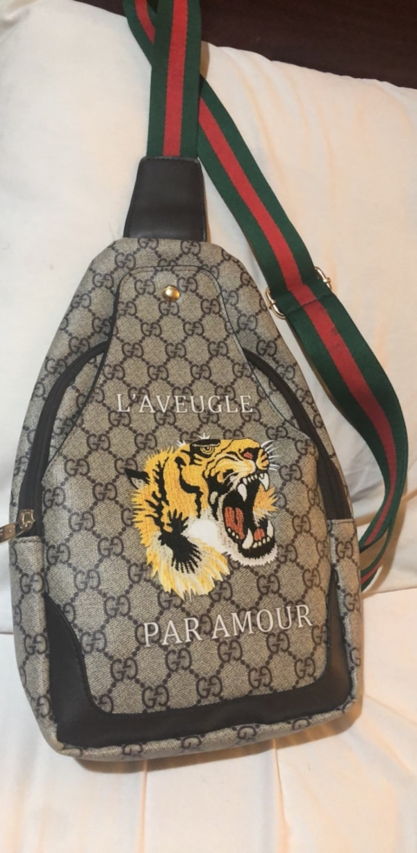 be55a3c34cea Used Black and brown gucci backpack for sale in College Park - letgo
