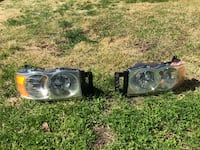 Mopar OEM Headlights and Spyder Fog Lights off 2005 RAM 1500 Mount Holly Springs, 17065