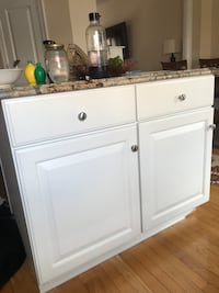 white wooden 2-door cabinet Germantown, 20874