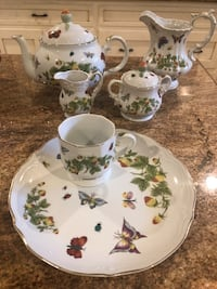 China set- party set- butterfly print  Dallas, 75230