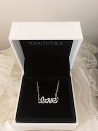 Pandora's valentine limited edition (LOVE necklace) Toronto, M1W 3W5