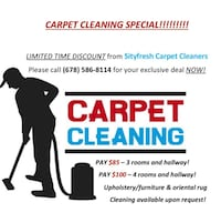 Sityfresh Carpet Cleaners  McDonough, 30252
