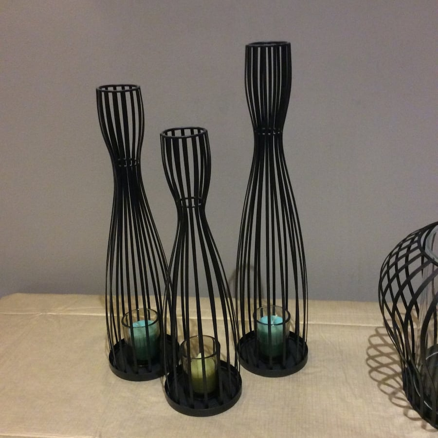 Partylite votive candle holders