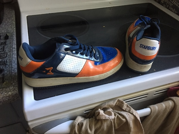 Used White-blue-orange Starbury shoes. Size 11 for sale in Oakville - letgo 44bfa53163