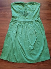 Be Bop green strapless dress Hillsboro