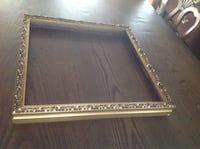 Square gold leaf photo frame Newtown, 06470