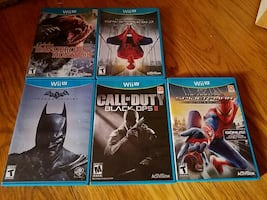 5 action Wii u game bundle in Antioch
