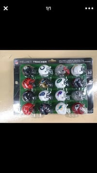 NFL Pocket Size Helmet Tracker 32 teams Davie, 33325
