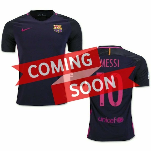 huge selection of 70374 fdb6a Nike Men's Barcelona #10 Lionel Messi Away Jersey