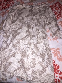 Snake skin two toned Express dress $10 Denver, 80205