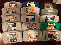 Super Nintendo and Nintendo 64 games Oyster Bay, 11758