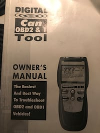 Code Scanner, practically brand new used maybe three times. These are 300+ Brand New, I'm asking 150. Comes with all attachments and manual and zip bag Carrier. NEED GONE ASAP!! Summerdale, 36580