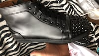 Black front spikes Christian louboutin Toronto, M1L 1G2