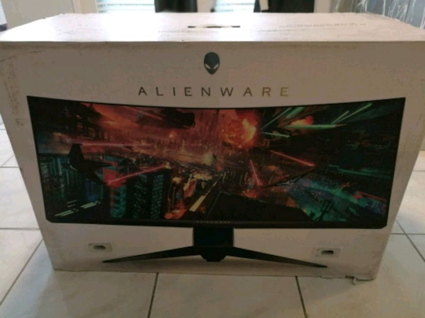 Alienware AW3418DW G-SYNC 100Hz Curved Monitor