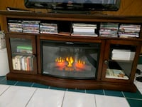 TV STAND with Fireplace (heat optional)