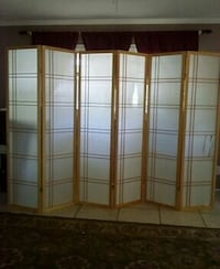 white and brown room divider Springfield, 65804