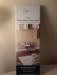 Mainstays expandable shoe rack box Lorton, 22079