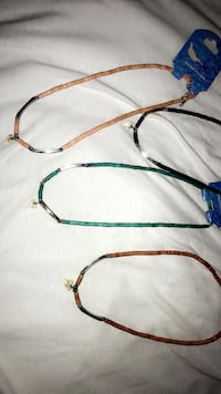 blue and yellow beaded necklace Orange City, 32763