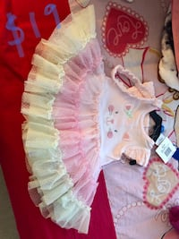baby's white and pink floral dress Ashburn, 20148