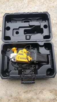 black and gray power tool