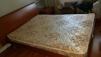 Bed frame and matress  and 2 small drawers   Richmond Hill, L4B 4W6
