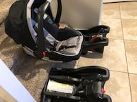 Infant car seat Graco snugride 35 click connect North Las Vegas, 89031