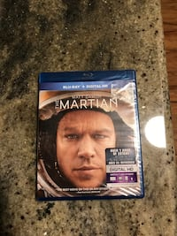 The Martian Blu-ray Brand New sealed