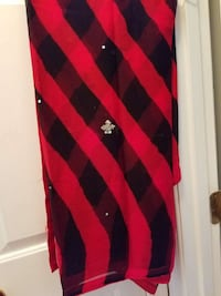 red and black plaid scarf Woodbridge, 22191