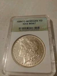 1884s ms67 silver dollar Duluth, 55807
