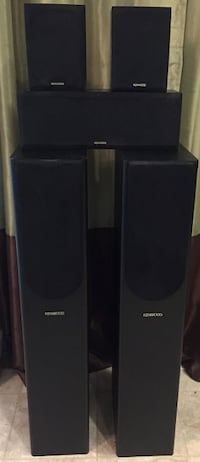 Home Theater Surround Sound Speaker Set (Qty 5) Woodbridge