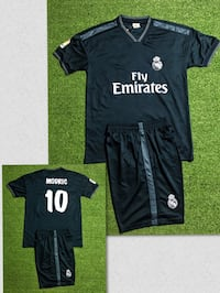 Real Madrid # 10 Modric Soccer uniform jersey & short . New Miami, 33187