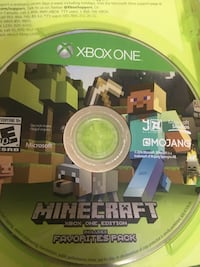 Minecraft Xbox one edition favorite pack Falls Church, 22044