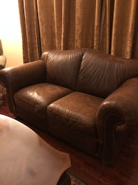 Genuine leather couch Temescal, 92883
