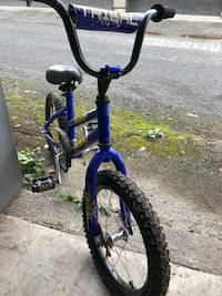 blue and black BMX bike Vancouver, V6N 2R4