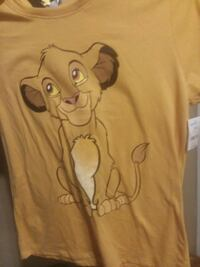 Xtra Large Lion King Shirt Brand New
