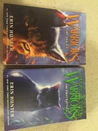 Two Warrior cats novels  Potomac Falls, 20165