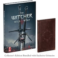 The Witcher III Wild Hunter Guide - Includes a Small Book Toronto, M4B 2T2