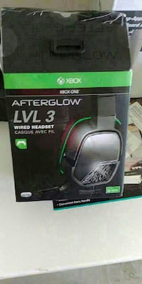 Xbox One Afterglow LVL 3 wired headset box